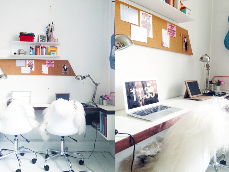 Homepics: mit hjemmekontor — brand styling by sasja