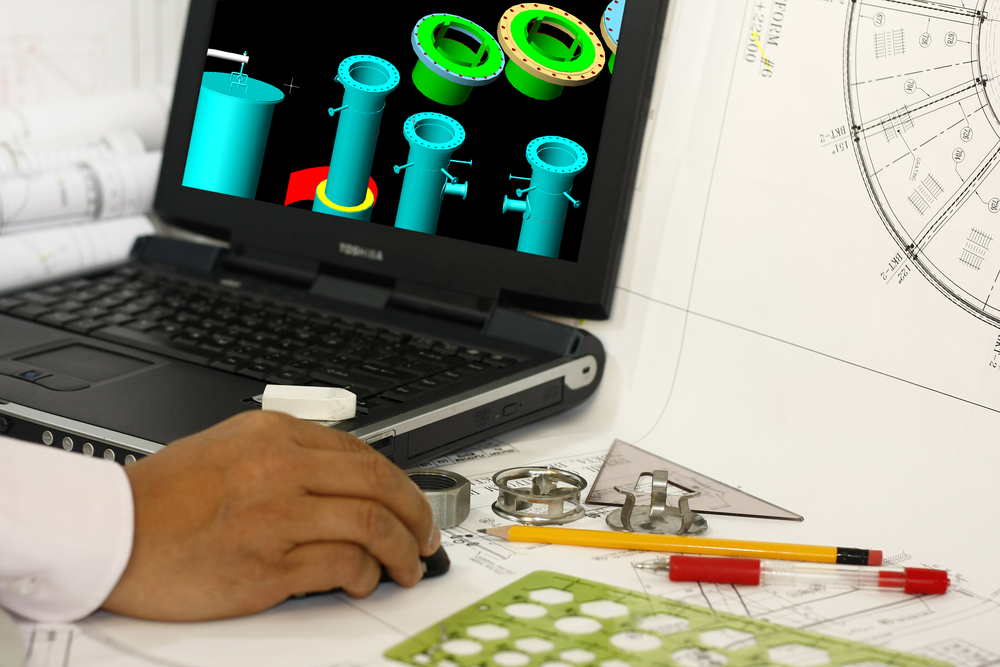Man 3d modeling with .STL file. Source: RAGMA IMAGES/Shutterstock.com