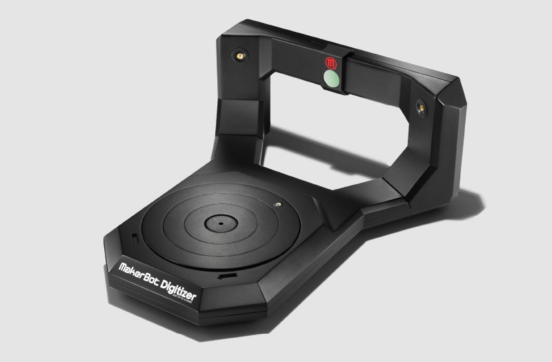 3D laser scanner. Source: MakerBot