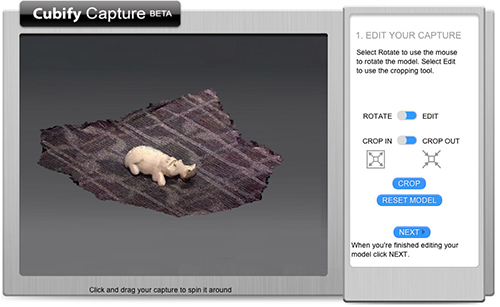Cubify Capture. Source: 3D Systems