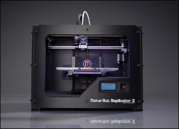 MakerBot 3D Printer. Source: MakerBot