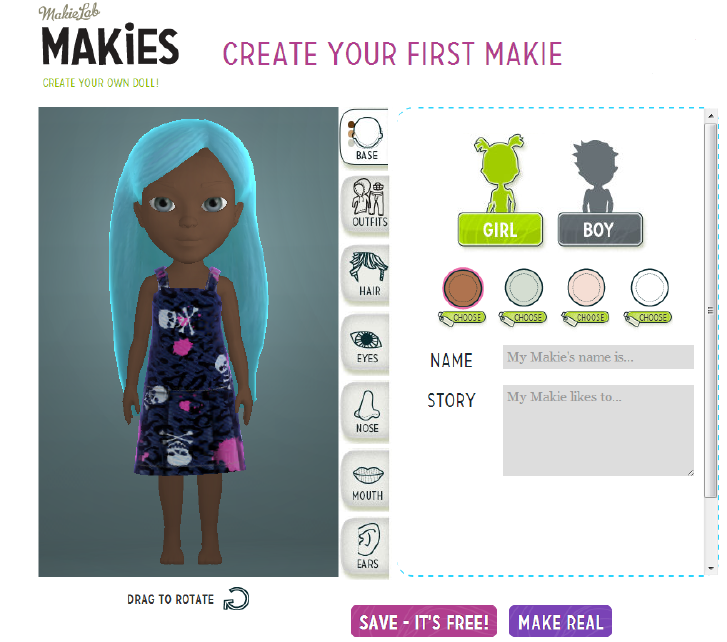 Makies Doll Factory App