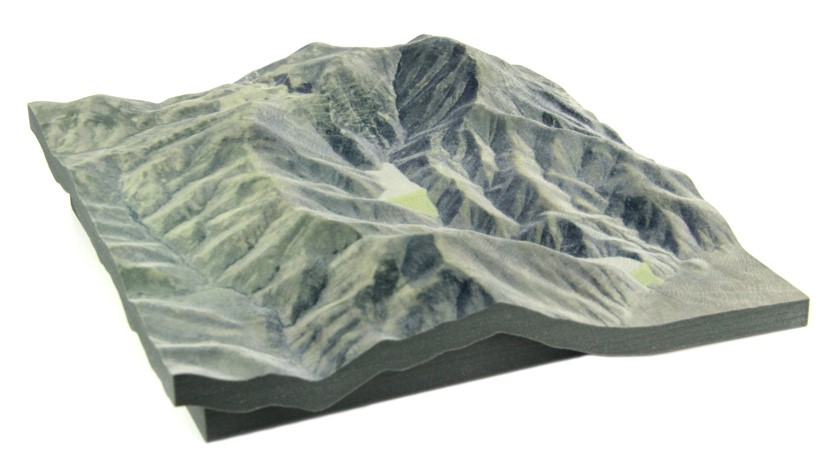 Topography model by MineBridge Software Inc.
