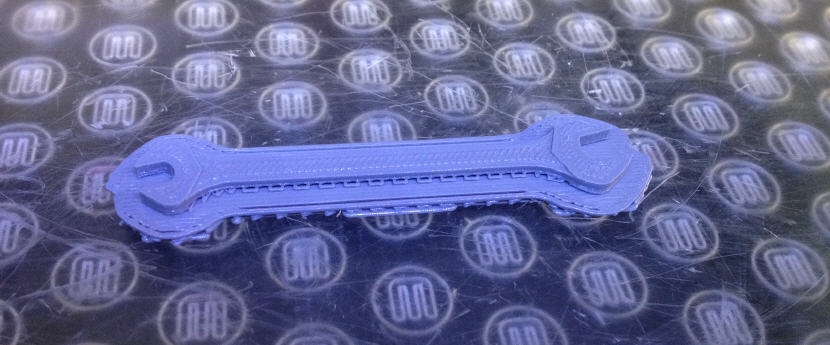 3d printed wrench from TraceParts. Source: WhiteClouds