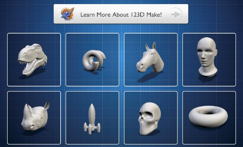 123D Make for Mac. Source: WhiteClouds