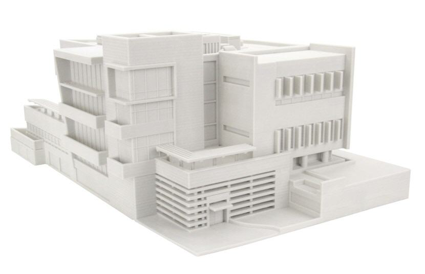 Architectural Model. Government Building. Source: WhiteClouds