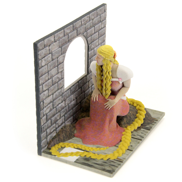 3D printed Rapunzel. Source: WhiteClouds