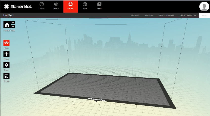 MakerBot Desktop. Source: WhiteClouds