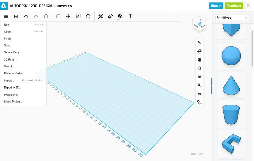 123D Design Web App. source: WhiteClouds