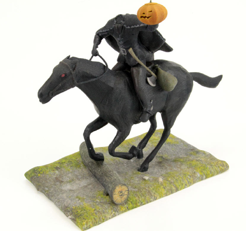 Headless Horseman Figurine. Source: WhiteClouds