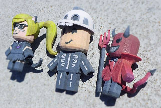 3D printed ROBLOX creation. Source: ROBLOX
