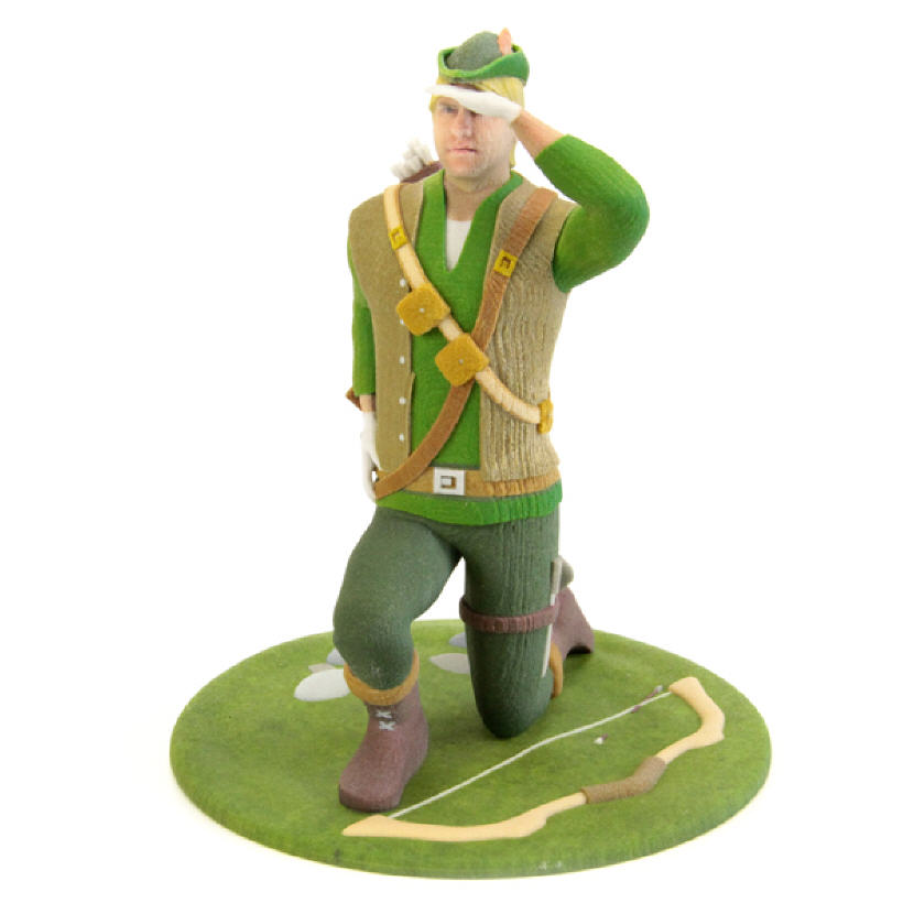 Robin Hood Figurine. Source: WhiteClouds