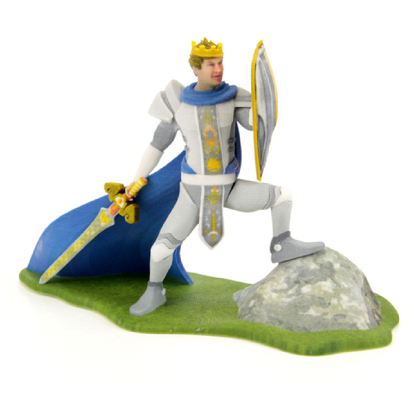 King Arthur Figurine. Source: WhiteClouds
