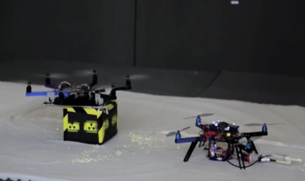 Flying 3D printer. Source: The Aerial Robotics Lab