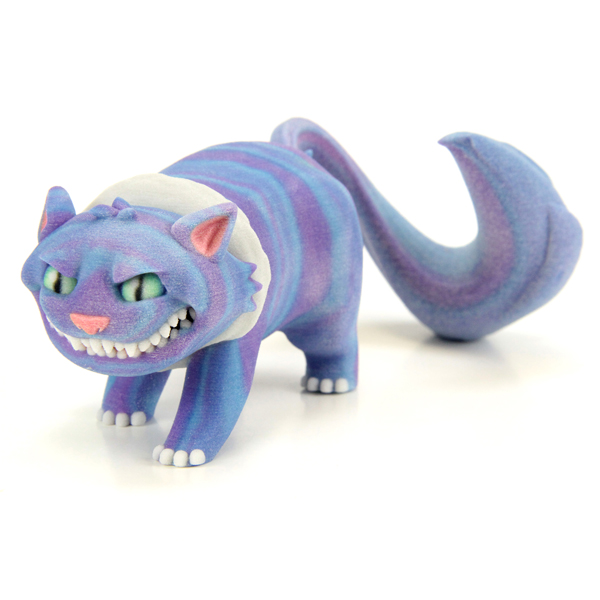 3D printed Cheshire Cat. Source: WhiteClouds