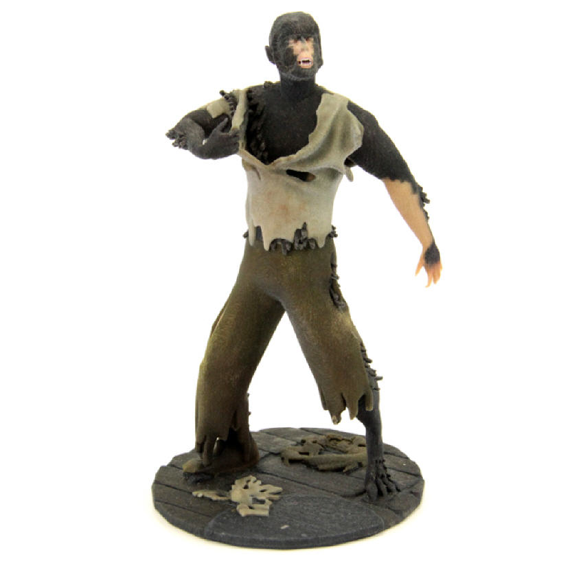 3D-Printed Wolfman Figurine. Source: WhiteClouds