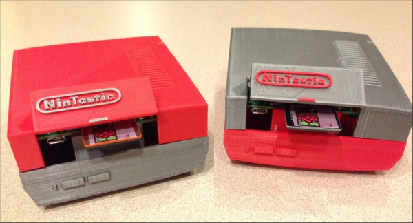 Nintendo-styled Case for the Raspberry Pi. Source: tastic007