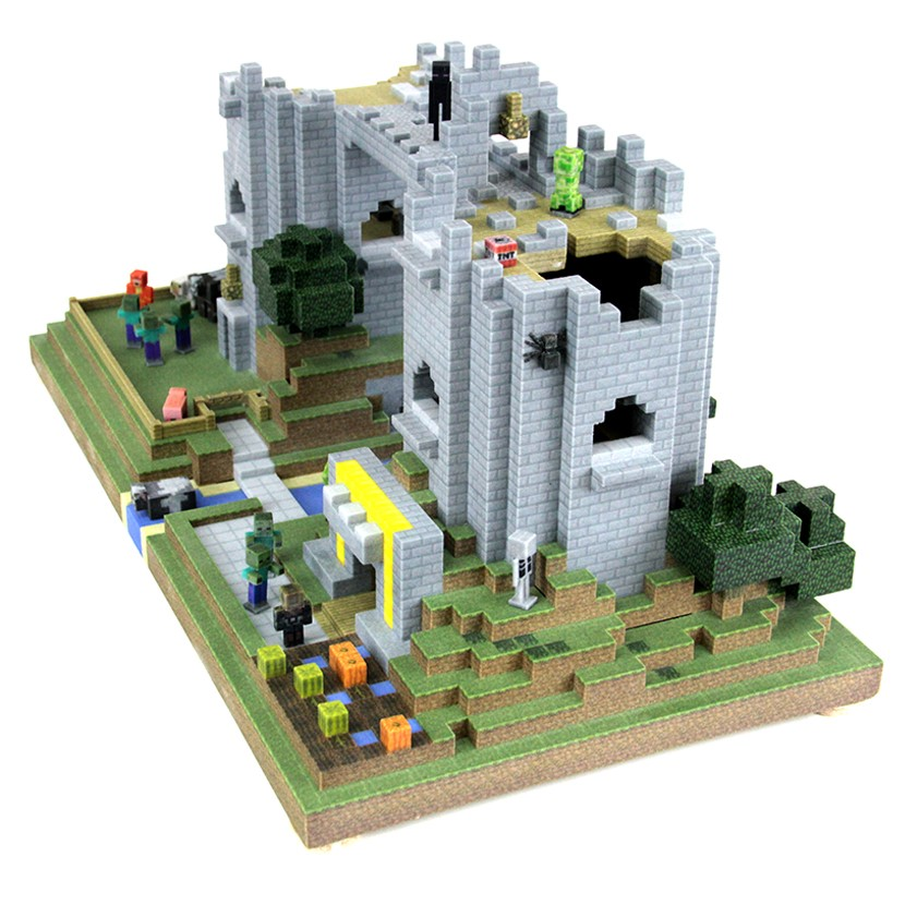 HOW TO: 3D Print Your Minecraft Creation
