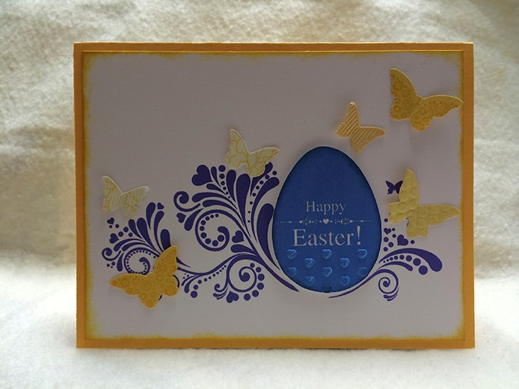 Easter Card - 3D-Printed Stamp. Source: WhiteClouds