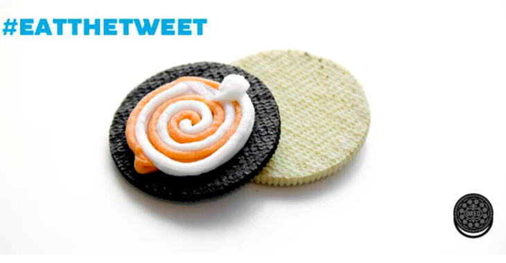 3D printed Oreo. Source: Mondelēz International/Oreo