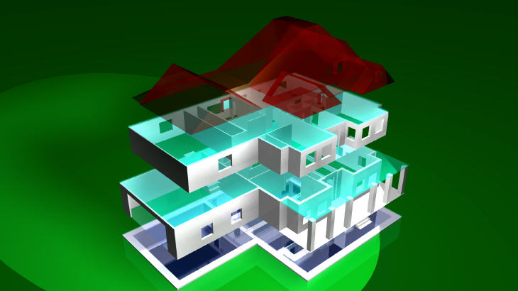 3D Printable House Plans. Source: The Plan Collection