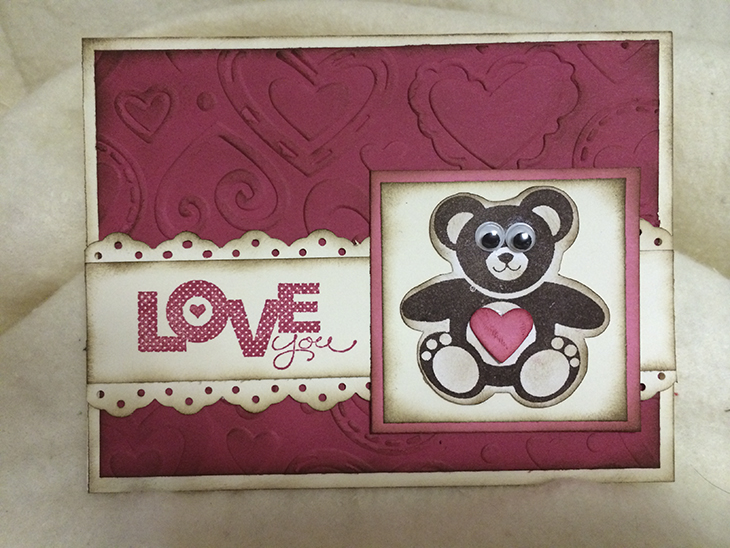 Heart Bear Card. Source: WhiteClouds