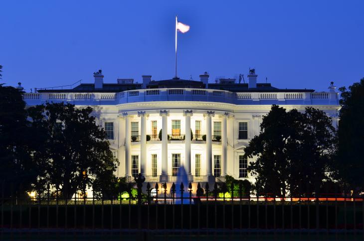 The White House, Washington D.C. Source: Orhan Cam/Shutterstock.com
