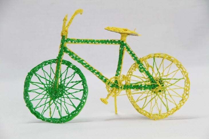 3Doodler bike. Source: WhiteClouds