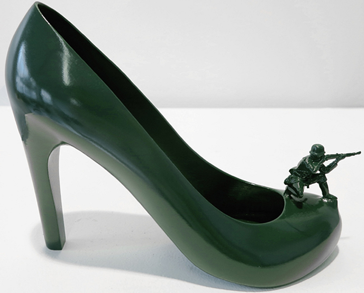 3D Printed Shoe Sculpture. Source: Sebastian Errazuriz