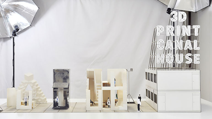 3D printed model canal house. Source: DUS Architects