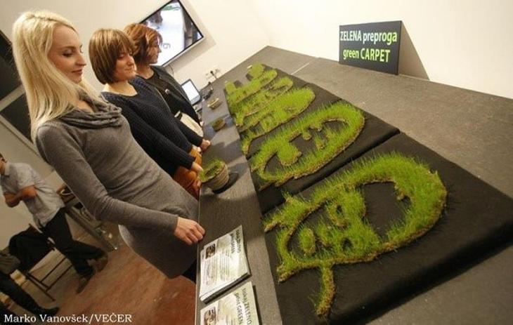 Print Green 3D printed grass. Source: Print Green