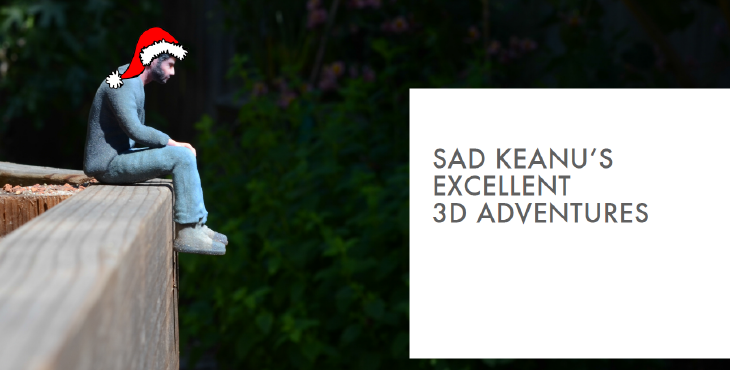3D printed Sad Keanu. Source: The Atlantic
