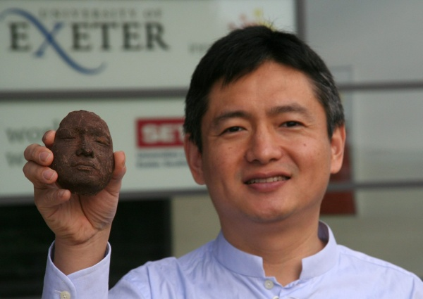 3D printed chocolate face. Source: Choc Edge
