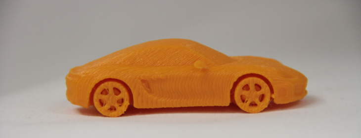 3D printed Porsche. Source: WhiteClouds