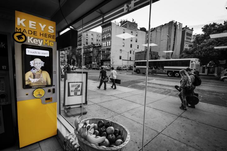 KeyMe Kiosk. Source: KeyMe