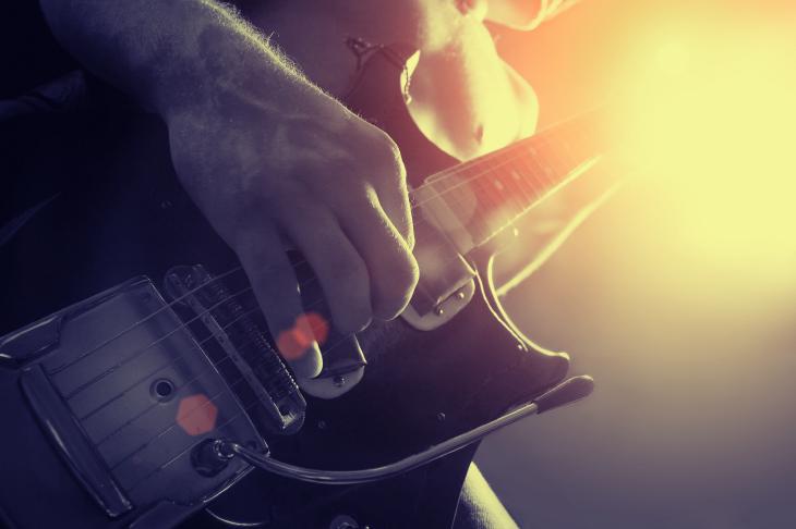 Guitar player. Source: Elena Efimova/Shutterstock.com