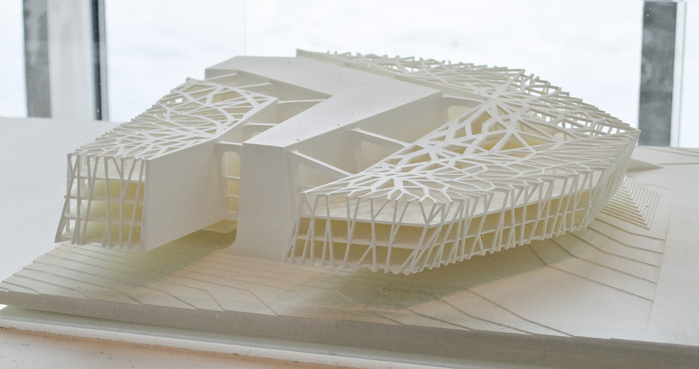 3D printed architecture. Source: Jon Olav/Flickr.com