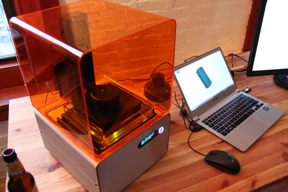 Formlabs 1 3d printer. Source: dreamexplorer/Flickr.com