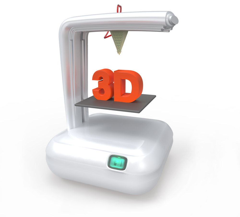 3D printing. Source:  Giovanni Cancemi/Shutterstock.com