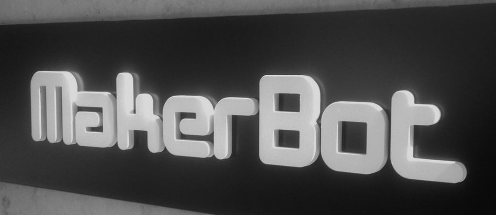MakerBot headquarters logo. Source: WhiteClouds
