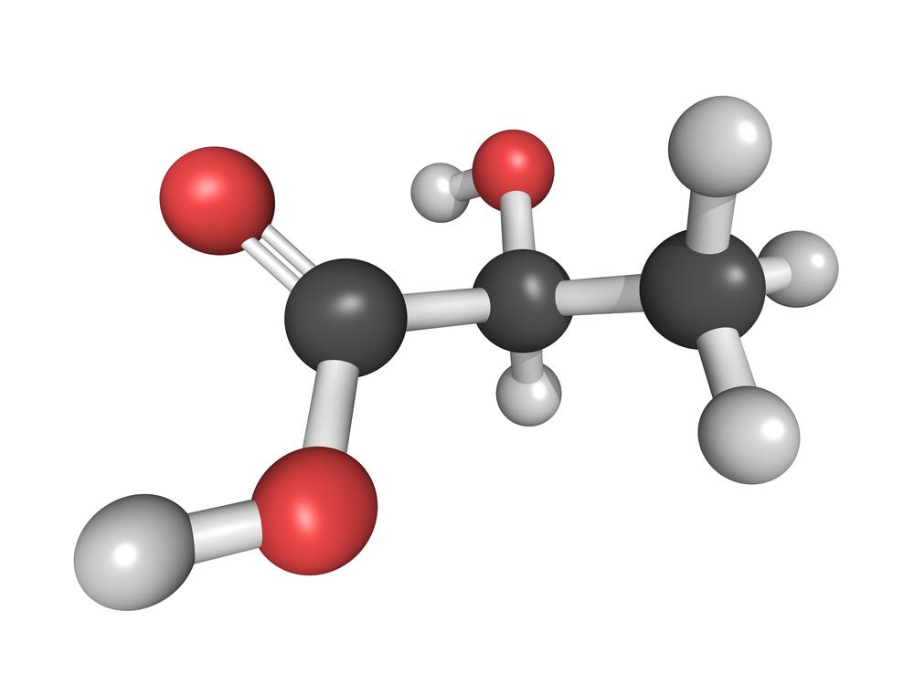 Molecule model. Source: Shutterstock