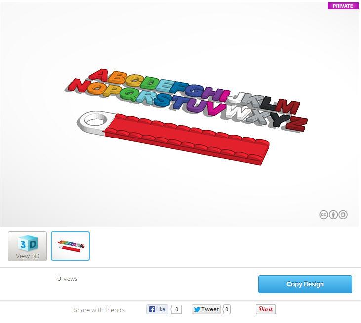 Tinkercad screenshot. Source: Tinkercad