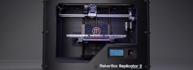 MakerBot 3D Printer. Source: MakerBot.