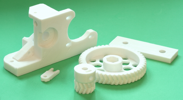 3D printed spare parts. Source: Andrew Craigie on flickr.com