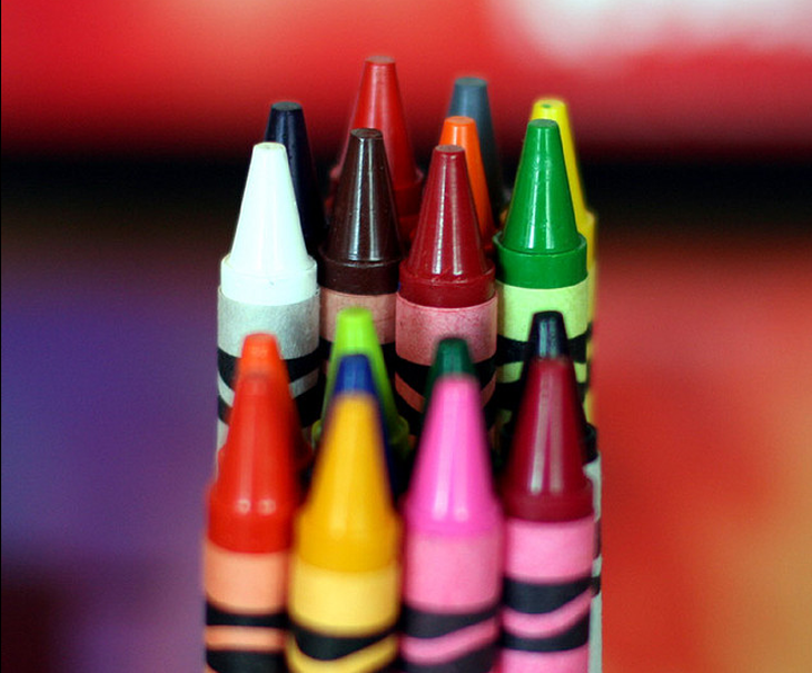 3D Printed Crayons. Source: Paul Stein on flickr.com