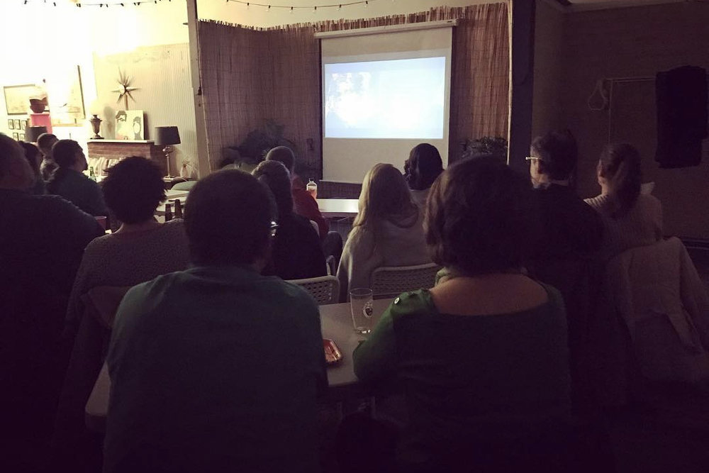 Terror and Talk at the Time Bomb Horror Movie Club
