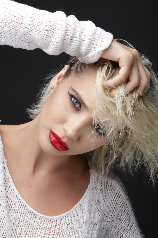 Model: Oly M.  Hair: Ariana Smith  Photographer: Joyce O'Neal