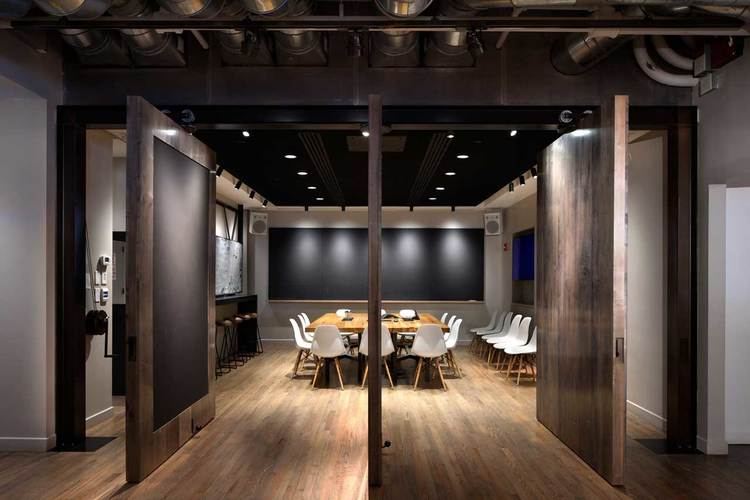 Conference Room Design Ideas find this pin and more on conference room decor ideas Industrial Design Conference Room