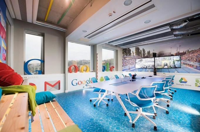 Google Conference Room Design