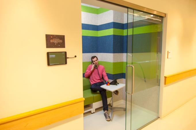 Lab Central Call Room Design